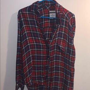Ae plaid shirt